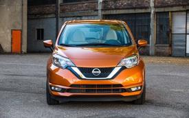 Xe 350 triệu Đồng Nissan Versa Note 2018 trình làng với trang bị tốt hơn