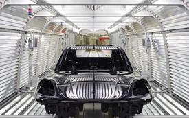 Bí mật sau quá trình lắp ráp Porsche Cayenne 2018