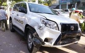Quy Nhơn: Toyota Land Cruiser Prado gây tai nạn liên hoàn khiến 6 người nhập viện