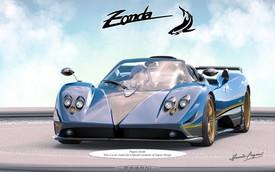 """Pagani """"thai nghén"""" phiên bản có một không hai mới của siêu xe Zonda"""