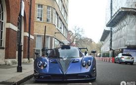 """Siêu phẩm Pagani Zonda """"thửa riêng"""" của ông chủ đại lý Bugatti tái xuất"""