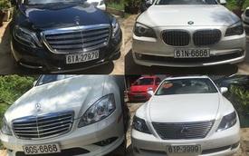 """Mercedes-Maybach S600 cùng dàn xe sang biển """"khủng"""" tham gia rước dâu tại Bình Dương"""