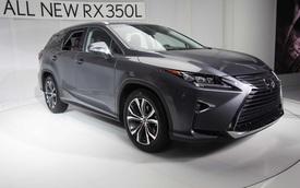 Lexus RX L chính thức gia nhập phân khúc SUV 7 chỗ hạng sang