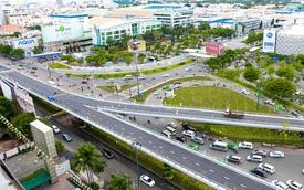 Cận cảnh cầu vượt hơn 240 tỷ đồng giải cứu kẹt xe ở sân bay Tân Sơn Nhất trước ngày khánh thành