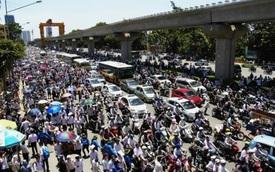 Hà Nội phê duyệt đề án cấm xe máy tại các quận năm 2030