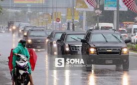 """Loạt xe """"khủng"""" theo chân các Nguyên thủ quốc gia dự APEC tại Đà Nẵng"""