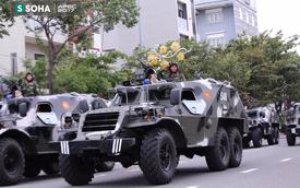 Ngắm dàn xe khủng của lực lượng công an, quân đội Việt Nam sẵn sàng bảo vệ APEC
