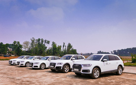 Audi chuẩn bị 319 xe hạng sang để đón tiếp Hội nghị thượng đỉnh APEC 2017 tại Việt Nam