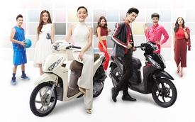 Xe ga Honda Vision thay đổi màu sơn, giá từ 29,9 triệu Đồng tại Việt Nam
