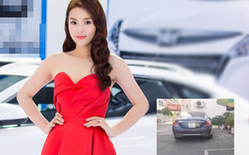Hoa hậu Kỳ Duyên nói gì khi bị hàng xóm phàn nàn vì đỗ xe sai nơi quy định?
