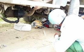 Xe công nông tông, đè nghiến xe chuyên dụng CSGT