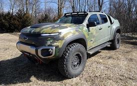 Chevrolet ZH2: xe quân sự hoạt động siêu êm, siêu mát