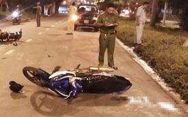 Say xỉn tông xe máy liên hoàn rồi bỏ trốn