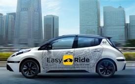 Taxi tự lái của Nissan sẵn sàng lăn bánh