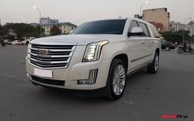 """""""Khủng long Mỹ"""" Cadillac Escalade ESV cũ rao bán giá 5,8 tỷ đồng tại Hà Nội"""