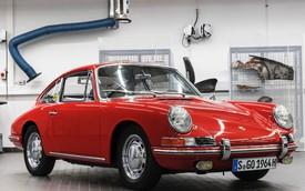 3 năm hồi sinh Porsche 901 cũ nát thành xe thể thao huyền thoại
