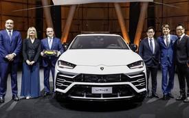 """Siêu SUV Lamborghini Urus """"chào"""" thị trường Châu Á tại Singapore"""