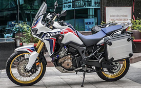 Cận cảnh Honda CRF1000L Africa Twin 2017 độ độc nhất Việt Nam