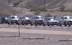 """Đoàn xe BMW và Rolls-Royce bí ấn chạy thử nghiệm ở """"Thung lũng Chết"""""""
