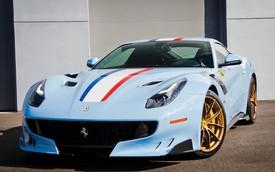Siêu xe Ferrari mang phong cách Tour de France