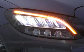 Mercedes-Benz C-Class 2019 sẽ có đèn pha đẹp hơn cả S-Class?