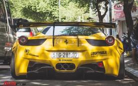Ferrari 458 Liberty Walk độc nhất Việt Nam trở về màu nguyên bản