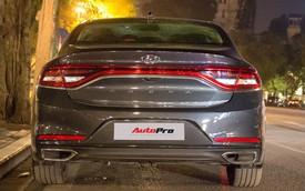 """Diện kiến """"xế lạ"""" Hyundai Azera 2018 trên phố Hà Nội"""