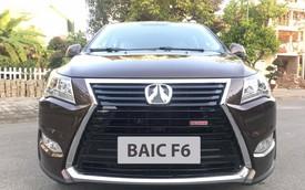 BAIC F6 - xe nhái Lexus có mặt tại Hà Nội với giá chưa đến 600 triệu đồng