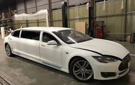 Tesla Model S độ limousine độc nhất thế giới, giá ngang BMW 6-Series