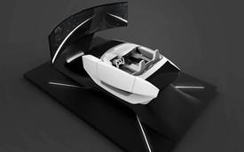 Nội thất như phi thuyền không gian trên xe Hyundai trong tương lai