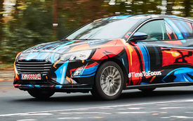 Ford lần đầu tiên khoe ảnh Focus thế hệ mới