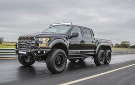 Ford F-150 Raptor hóa thành… quái thú 6 bánh