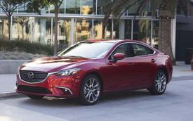 Mazda6 nằm trong nhóm xe ế ẩm năm 2017 tại Mỹ