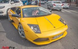 Lamborghini Murcielago màu vàng độc nhất Việt Nam tái xuất sau một năm vắng bóng