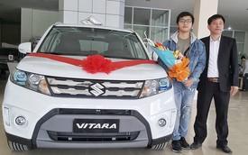 Chàng sinh viên 21 tuổi tự kiếm tiền mua ô tô tặng bố
