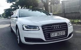 Sedan hạng sang Audi A8L cũ rao bán lại giá 3,8 tỷ đồng tại Sài Gòn