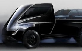 Xe bán tải của Tesla sẽ có kiểu dáng kì dị?