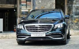 Lộ ảnh thực tế Mercedes-Maybach S450 2018 giá 7,219 tỷ tại Việt Nam