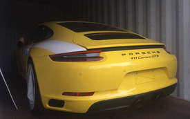 Porsche 911 Carrera GTS 2017 đầu tiên cập bến Việt Nam, giá từ 7,97 tỷ Đồng