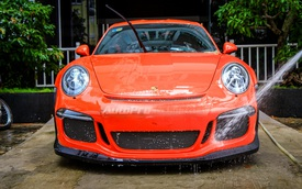 """Cận cảnh siêu xe Porsche 911 GT3 RS mà Cường """"Đô-la"""" mới tậu"""