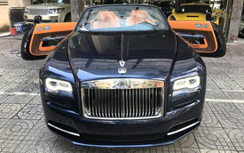 Rolls-Royce Dawn bất ngờ xuất hiện tại Sài thành