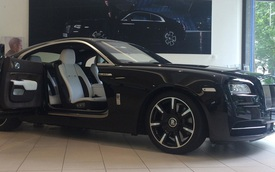 Vén màn chiếc Rolls-Royce Wraith độc nhất tri ân ban nhạc rock huyền thoại The Who