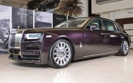 Vẻ đẹp của xe nhà giàu Rolls-Royce Phantom 2018 tại Các Tiểu vương quốc Ả Rập Thống nhất