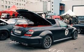 Không thể chờ X-Class ra mắt, biker biến Mercedes-Benz S-Class thành xe bán tải