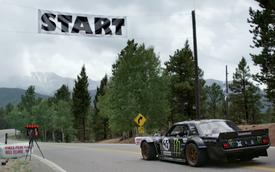Xem Ken Block drift trên đèo với Ford Mustang độ 1.400 mã lực