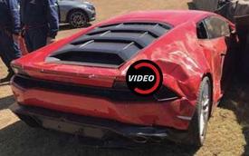 """Lamborghini Huracan gặp nạn trong """"buổi tiệc"""" tốc độ tại trường đua ở Nam Phi"""