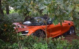 Đây là vụ tai nạn hiếm hoi của siêu xe McLaren 720S