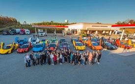 Đoàn siêu xe của người Việt trên đất Mỹ bắt đầu hành trình thứ 2 đến Atlanta