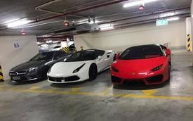 Choáng thiếu gia Hà Nội sở hữu bộ đôi Lamborghini Huracan LP580-2 và Ferrari 488 GTB