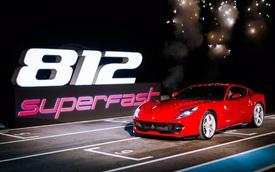 """Siêu xe Ferrari 812 Superfast tiếp tục ra mắt tại Đông Nam Á, đại gia Việt """"phát thèm"""""""